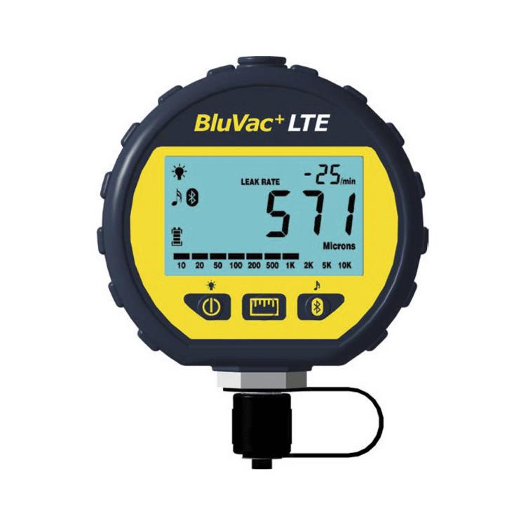 BluVac+ LTE Wireless Digital Vacuum Gauge NZ