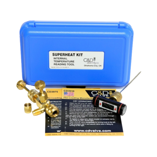 Superheat Kit w/ CD3930 (BV-CRT) and CD3975 thermometer Australia